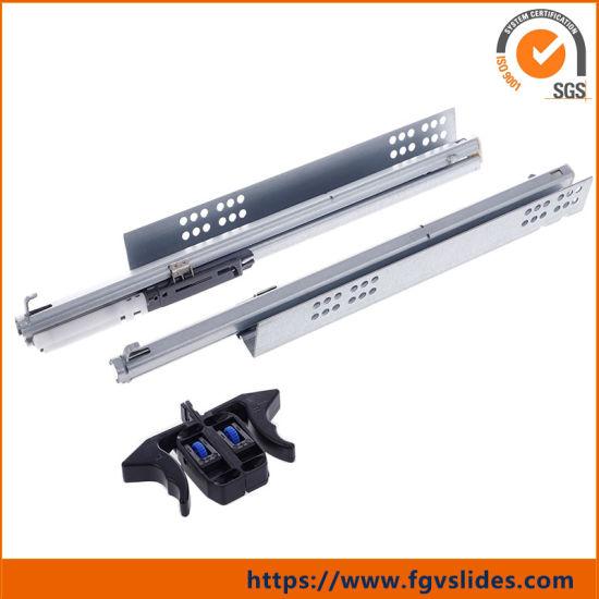 China Quadro V6 Full Extension Undermount Drawer Slide
