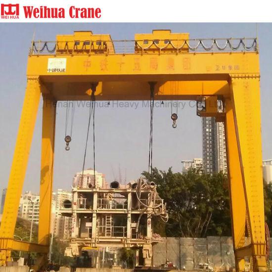 Weihua Mg Type Double Girder Gantry Crane 50 Ton