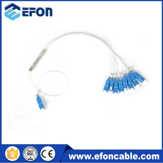 China Mini Micro Type PLC 1X8 PLC Splitter with Sc APC