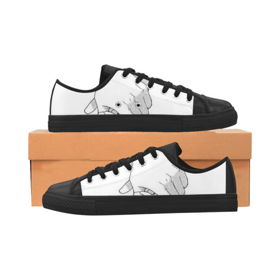 620d68199e Dropshipping Factory Classic Canvas Sneakers Design Your Own Shoes with  Sublimation Printing