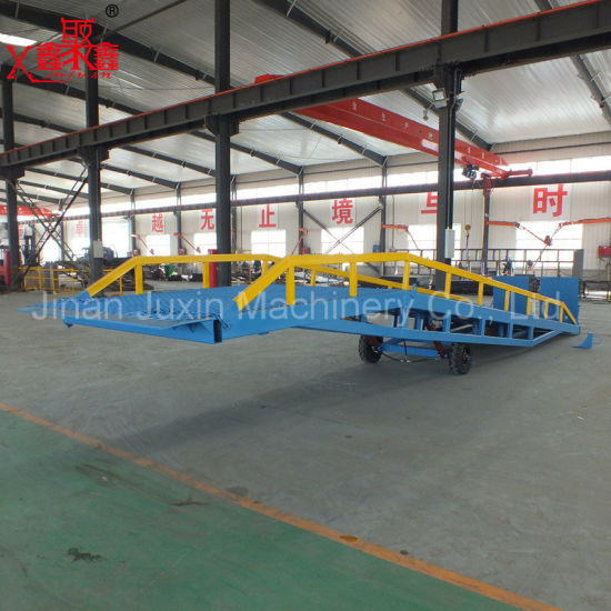 Hydraulic Container Ramp for Forklift with Dcq15
