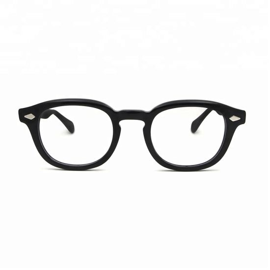 High Quality Eyeglass Men Retro Vintage Round Acetate Optical Frame for Man Women pictures & photos