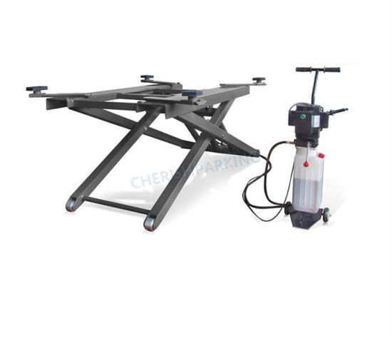 Double Hydraulic Portable and Simple Scissor Car Lift