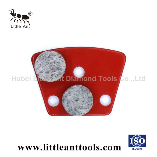 Grinding Plate with 2 Arrow Segments for Different Hardness of Concrete and Masonry Materials/Diamond Tool