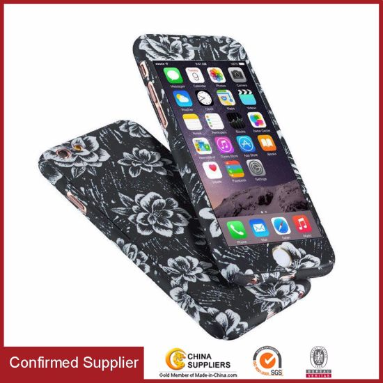 360 Degree Full-Body Water Transfer Floral Pattern Printing PC Case pictures & photos