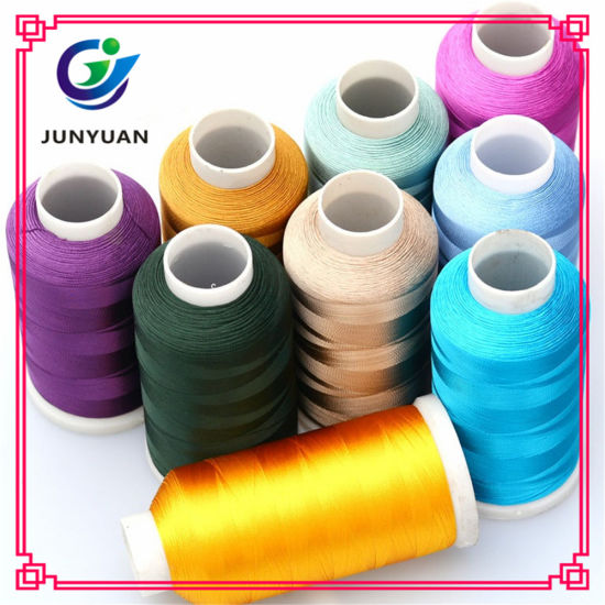 China High Quality Polyester Exquisite Embroidery Thread China
