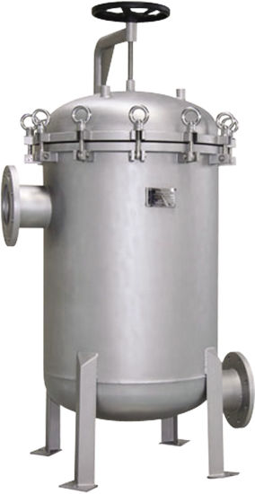 Stainless Steel Housing Bag Filter System for Water Filtration