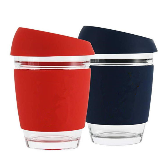 2020 Hot Selling Products Travel Recycled High Borosilicate Glass Coffee Mugs With Silicone Case China Mug And Cup Price Made In Com