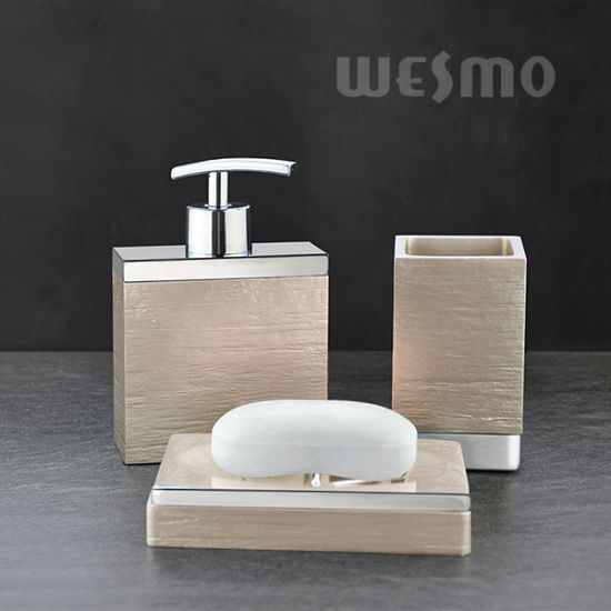Modern Polyresin Bathroom Accessories (WBP1077B) pictures & photos