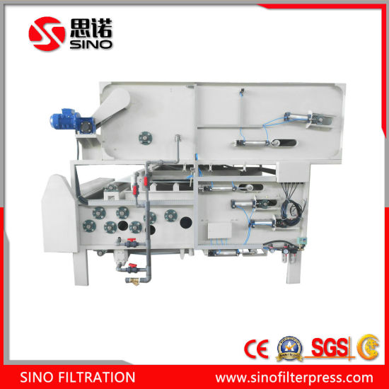 Stainless Steel Belt Filter Press Sludge Dewatering Machine pictures & photos