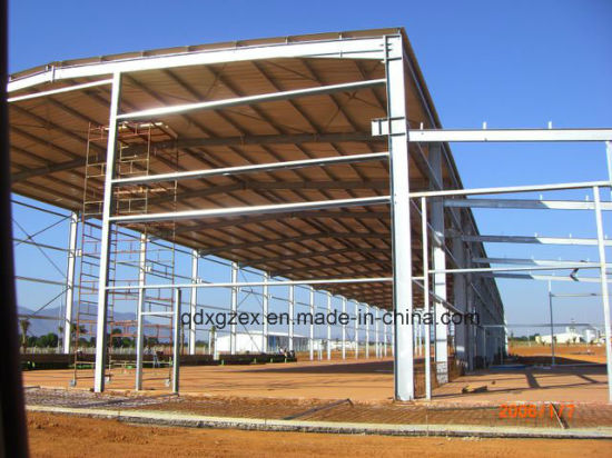 Prefabricated Steel Structure Warehouse (W-003)