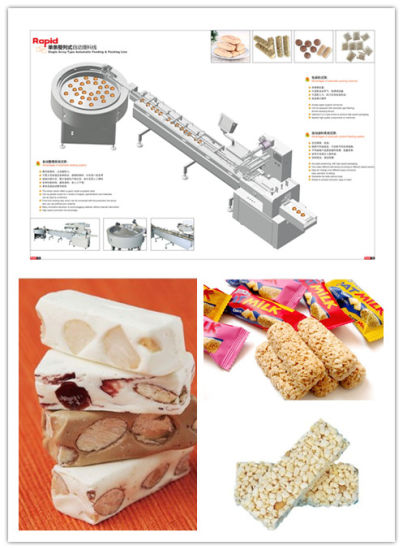 Cereal Bar Oat Meal Chocolate Automatic Packing Machine pictures & photos