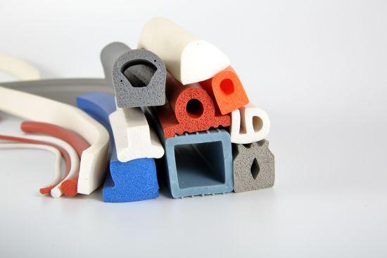 Customized Sponge Foam Rubber Sealing Strips Silicone Rubber Seal Rubber Hose