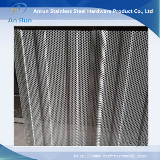 Aluminium Perforated Sheet with Waves pictures & photos