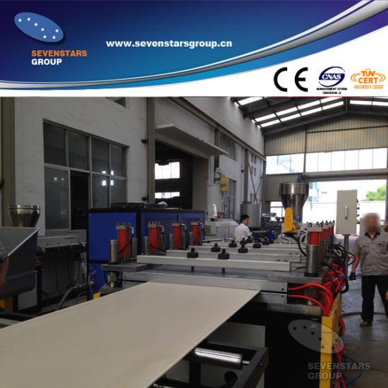 PVC Crust Foam Board Extrusion Machine