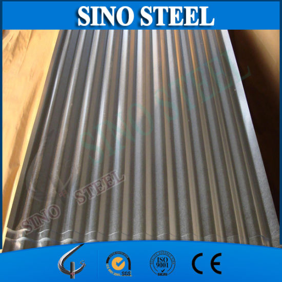 Zinc Coated Corrugated Roofing Tile/Corrugated Steel Sheet pictures & photos