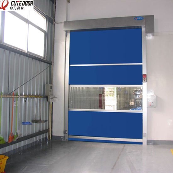 China Supplier Manufacturers Energy-Efficient High Speed Clean up Door pictures & photos