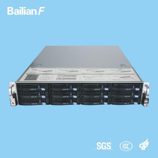 2u-12 Bays KTV Server High Cost-Effective with 3 Years Warranty 600W Gateway Server