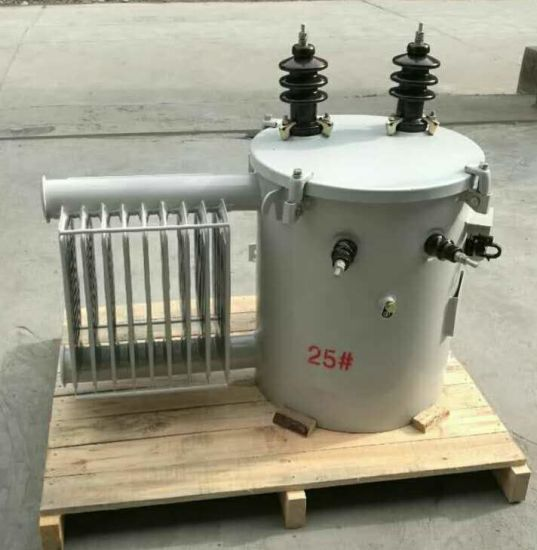 13.8kv Single Phase Oil-Immersed Distribution Transformer pictures & photos
