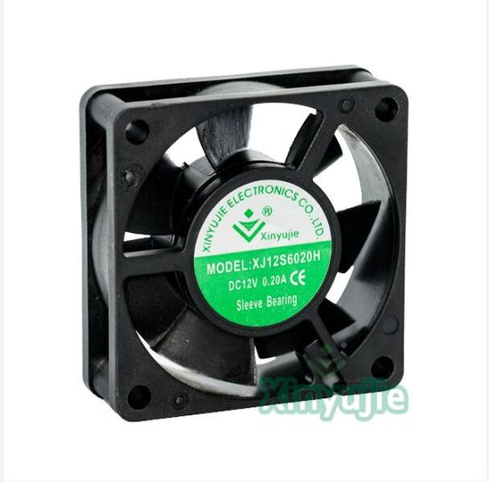 Micro 12V 60mm DC Fan 24V DC Cooling Fan 60X60X20mm with Ce RoHS UL Approval pictures & photos