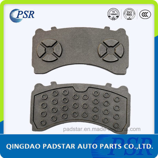 Truck Brake Pads Casting Iron Backing Plate for Wva29244 (Mercedes-Benz) pictures & photos