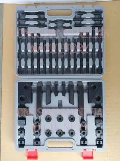M16X18mm Deluxe Steel High Hardness 58PCS Clamping Kit in Toolbox pictures & photos