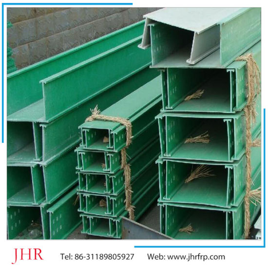 H I Type Beam Fiberglass GRP FRP Profile pictures & photos