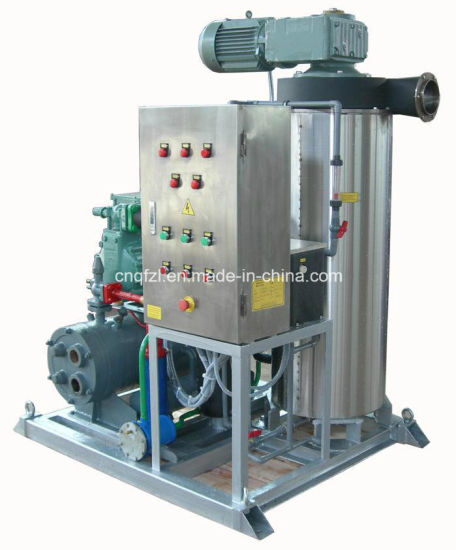 Slurry Ice Machine for Ocean Fishery