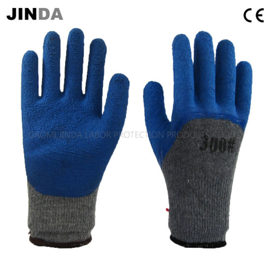 Latex Foam Coated Labor Protective Safety Work Gloves (LH101)