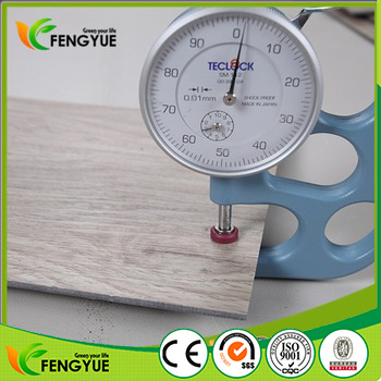 China Hot Sell Malaysia 2 5mm Thickness PVC Vinyl Planks