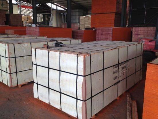 Poplar/Birch/Hardwood Core Marine Plywood/Shuttering Plywood/Film Faced Plywood for Construction (HB001) pictures & photos
