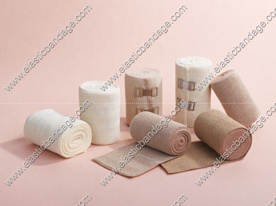 Short Stretch Elastic Bandage Made by 100% Cotton pictures & photos