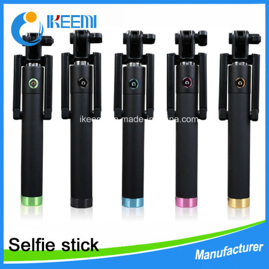 Self-Trait Extendeable Wireless Bluetooth Monopod Selfie Stick for iPhone pictures & photos