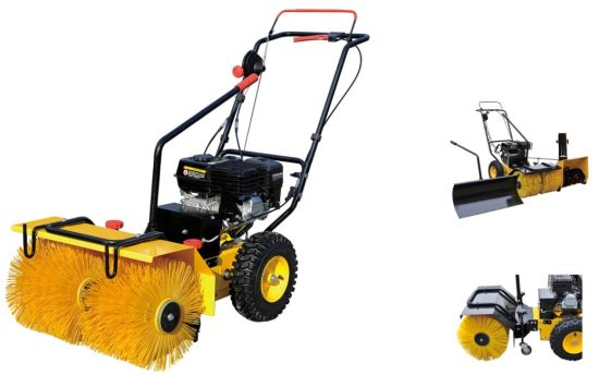 Hot Selling 5.5HP Loncine Power Gasoline Snow Sweeper (SSG5562) pictures & photos