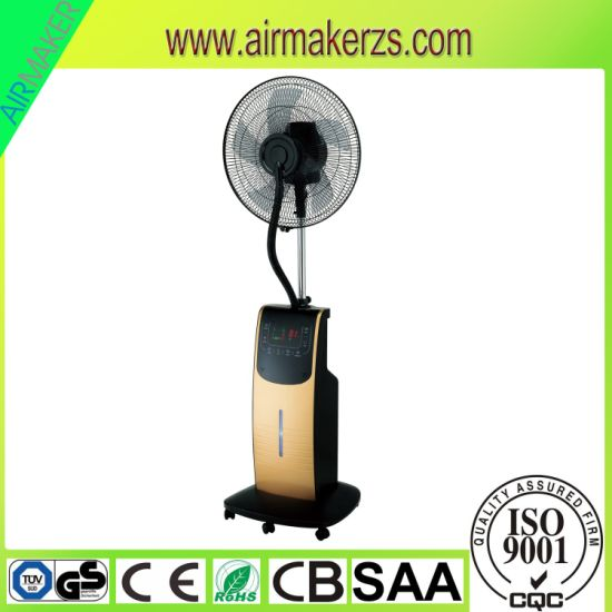 "16"" 90W 3.2L Water Mist Stand Fan with Remote Control pictures & photos"