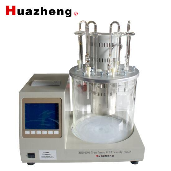 ASTM D445, IP 71, ISO 3104 Digital Kinematic Viscometer Viscosity Meter Bath