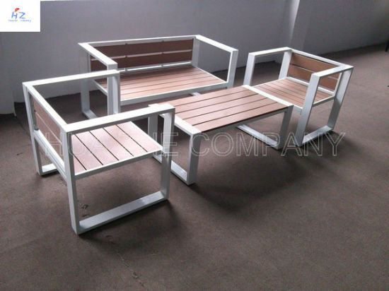 Hot Plastic Wood Furniture Outdoor For Indoor
