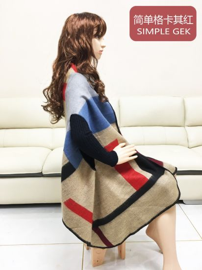 Multilayer Tassels Knitted Wholesale Scarf Shawl