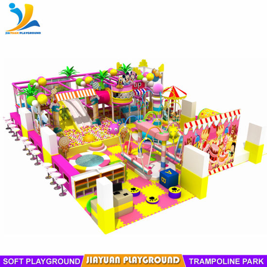 Jungle Series Children Soft Indoor Playground