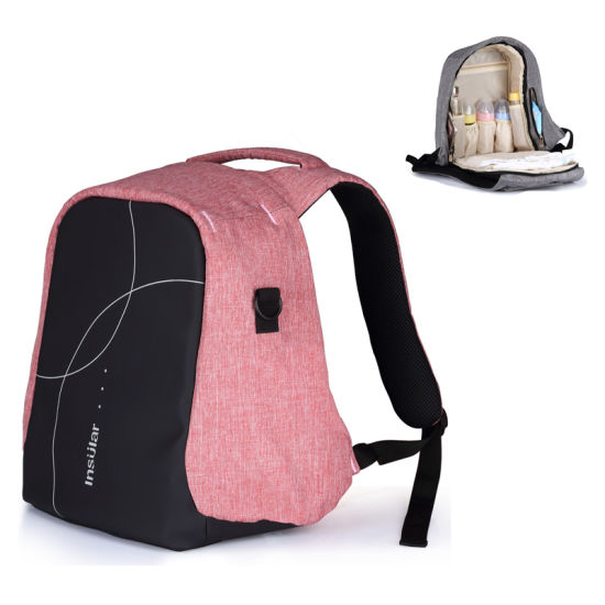 New Waterproof Baby Mummy Mum Diaper Nappy Changing Shoulder Bag Laptop Backpack