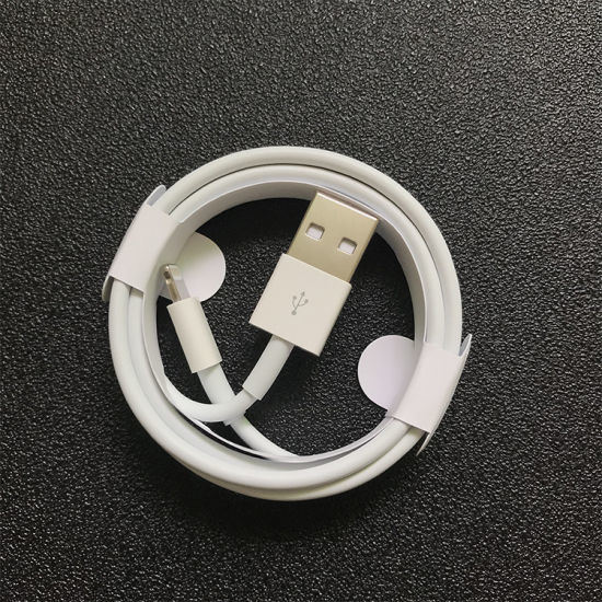 2019 Wholesale 2m High Speed USB to Lightning Charging Cable for iPhone USB Data Line