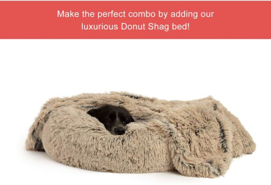 Best Dog Beds Pet Beds with Machine Washable & Dryable Cover
