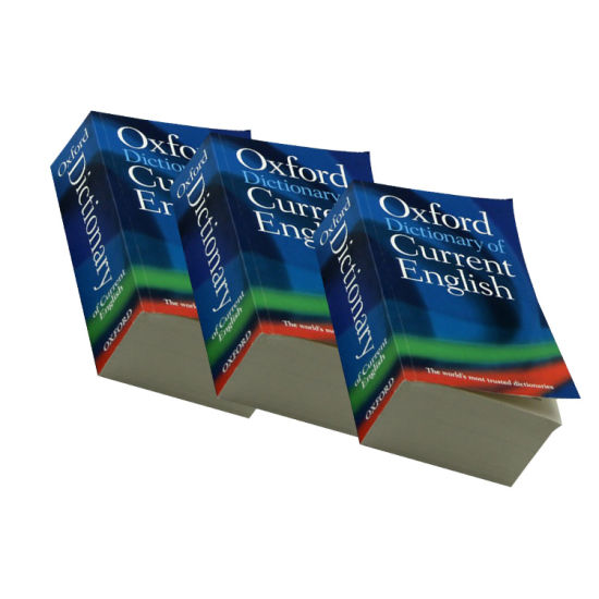 Manufactured China Printing Factory Oxford English Dictionary