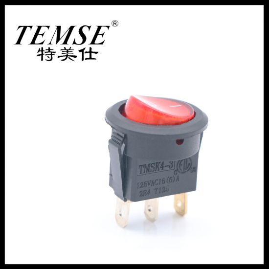 Temse Factory Supply Appliance Replacement 3 Pin Boat Switch