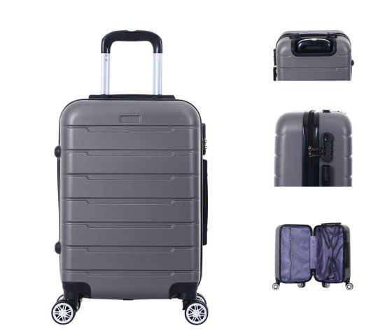 """Traveling Trolley ABS Colorful Carry on Luggage 3 PCS Set 20""""24""""28"""" Laggage Bag Travel Luggage Trolley- Xha151"""