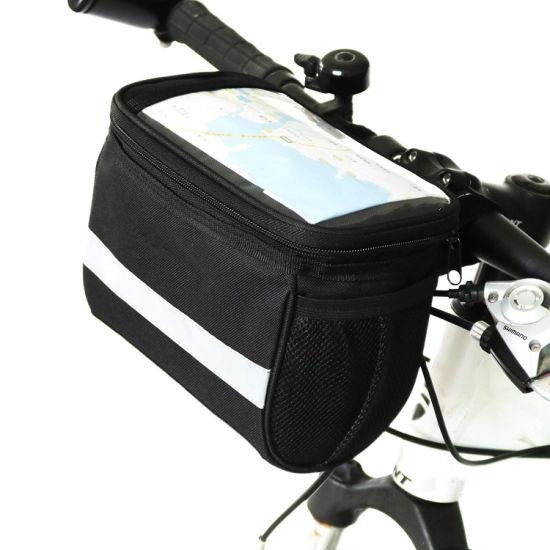 Portable Cycling Bike Bicycle Handlebar Bar Bag Quick Release Front Basket US
