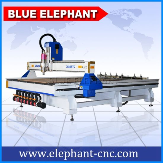 Ele 2030 PVC Board CNC Router with Vacuum Table for Sale pictures & photos