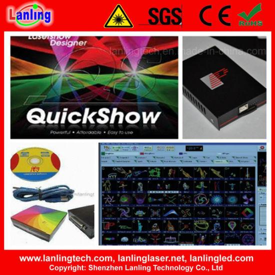 Pangolin Quickshow Laser Software for Ilda Animation Laser Lights