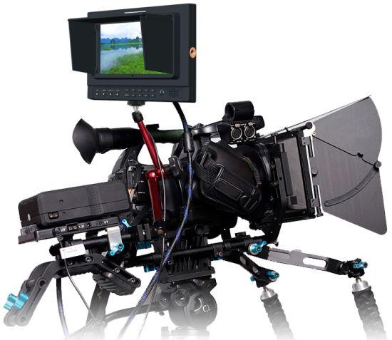"1280x 800 IPS Panel 7"" Ultra-High Resolution Camera Field Monitor"