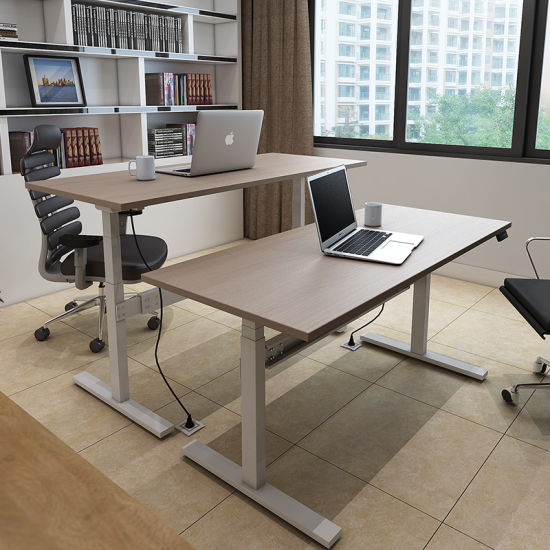 Face to Face Workstation Desk with Two Person pictures & photos